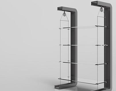 Furniture Design - Modern Shelf