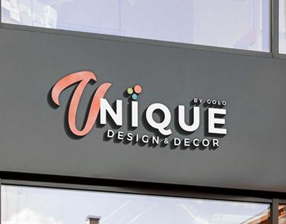 Logo Unique Design & Decor