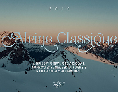 ALPINE CLASSIQUE 2019