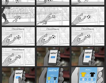 Kickoff Storyboards