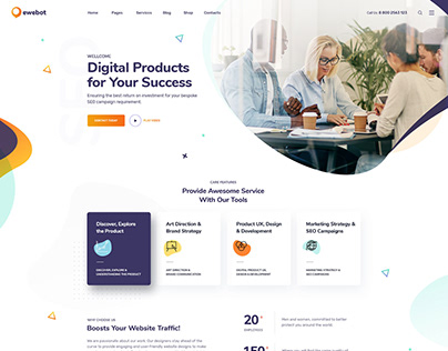 Ewebot - SEO & Marketing WordPress Theme