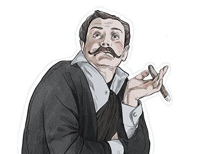 Stickers «Sherlock Holmes»