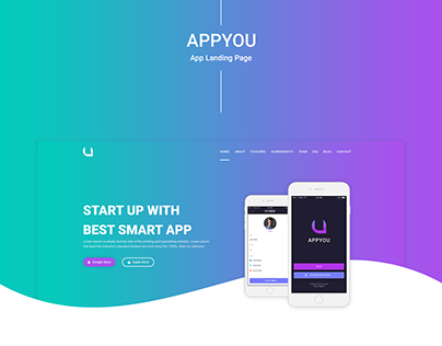 APPYOU - App Landing Page