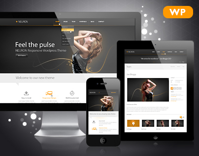 Neuron Responsive WordPress Theme