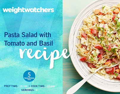 Weight Watchers // Summer Recipe Cards