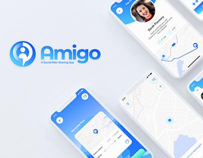 Amigo - Social Ride-sharing App