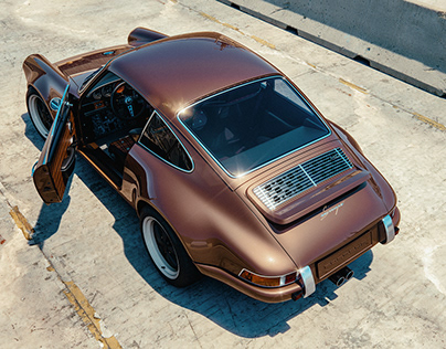 Porsche 911 by Singer // 3D & Motion Design Show