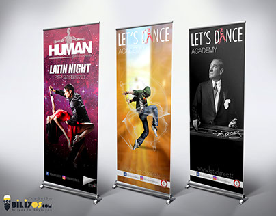 Let's Dance Academy Roll-up