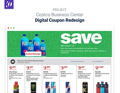 Costco Business Center - Digital Savings Redesign