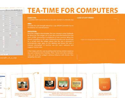 Digital - BOH Tea: Calm Widget
