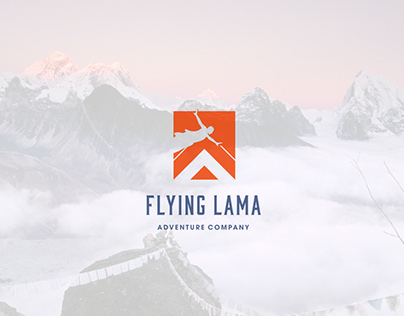 Flying lama