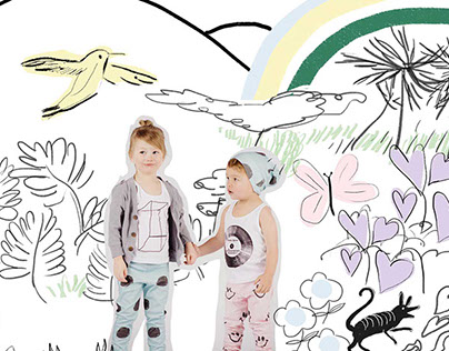 Artwork for Kids Clothing Brand