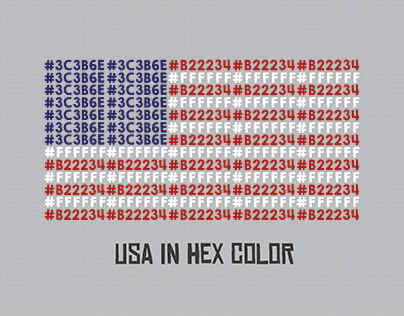 USA Hex Flag