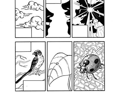 Authorial comic: Escovando os dentes com João