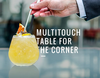 Multitouch Table for The Corner