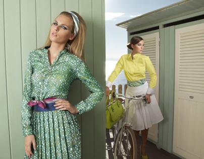 ANDRE BADI SS/2013 Fashion shot In Italy