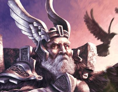 Guerra de Mitos - Odin