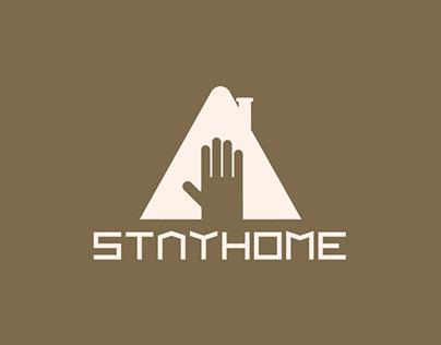 """Logo / Branding """"StayHome"""""""