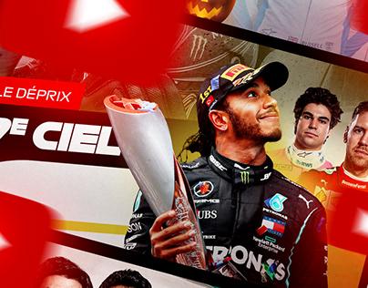 YouTube Thumbnails - Le Pit-Stop F1 2020