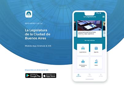 Rediseño App Legislatura CABA