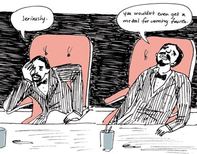Olympics comic
