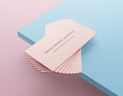 Set of Kyiv Solopreneur Business Cards