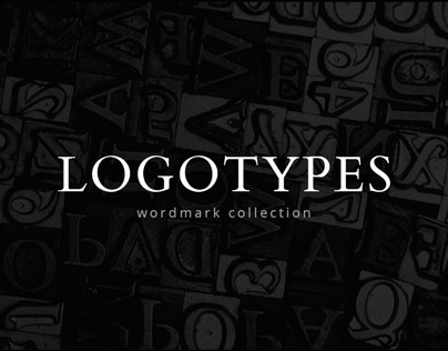 LOGOTYPES: wordmark collection