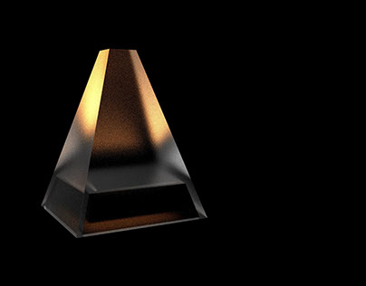 Pyramid of Gold [LAMP DESIGN]