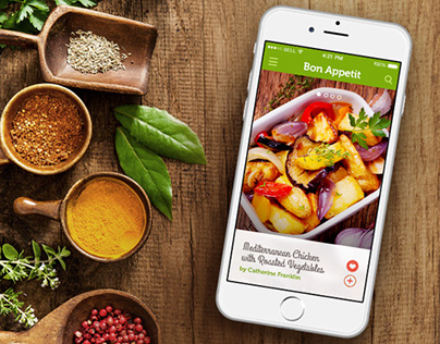 Bon Appetit Mobile App