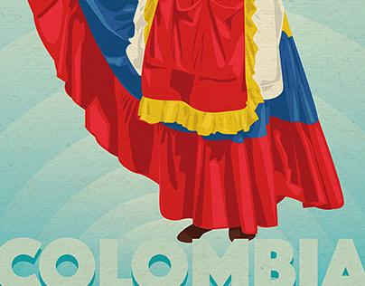 """La Colombiana"" Illustration"