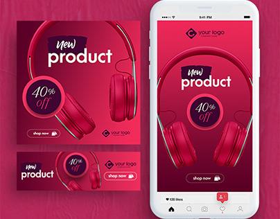 Online Shop Banner Pack
