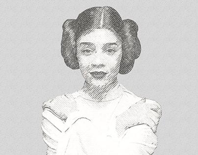 VooDooVal is Princess Leia