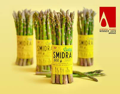 Green Asparagus Packaging