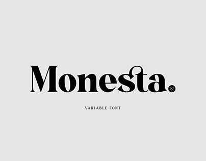 Monesta® | Free Font
