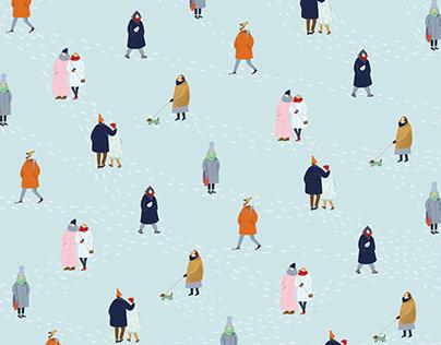 winter patterns // WHATAPAPER