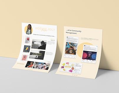 Simple portfolio / Communication