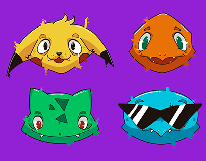 Pokemon Heads