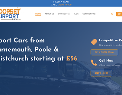 Dorset Airport Taxi - Taxi and Airport Car Service