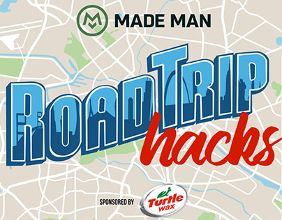 Road Trip Hacks Logo for Turtle Wax