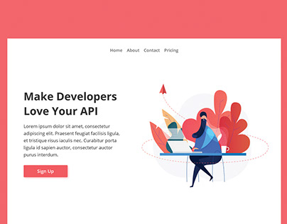 Multiple landing pages