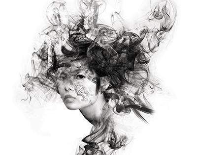 Smoky portrait