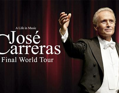 Jose Carreras Final World Tour