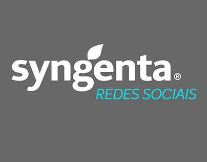 Redes sociais // Syngenta