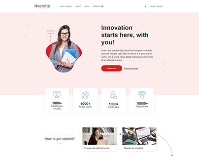 Education portal design