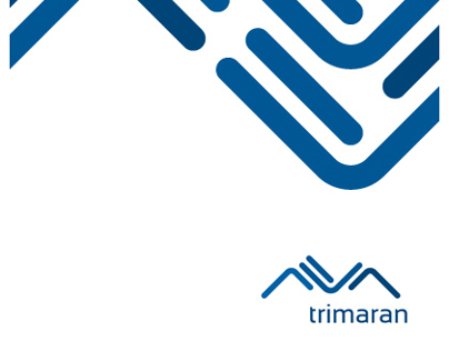 TRIMARAN - simple brand id