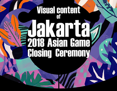 Visual Content of Asian Games 2018