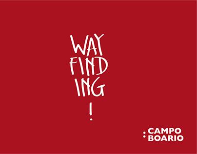 """WAYFINDING ABA ROMA """"CAMPO BOARIO"""""""