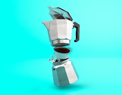 Volturno coffe maker
