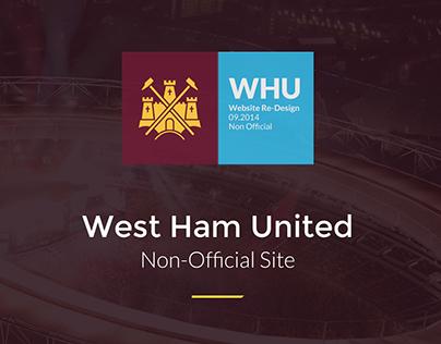 West Ham Utd website redesign