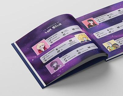 """Libro Ilustrado """"La profecía de Lux Relik"""""""